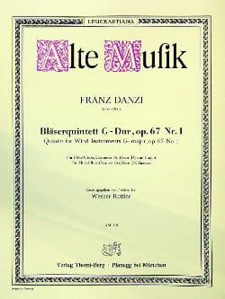 Bläserquintett G-Dur op. 67 Nr. 1 - Stimmen Franz Danzi laflutedepan