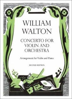 Concerto for violin William Walton Partition Violon - laflutedepan