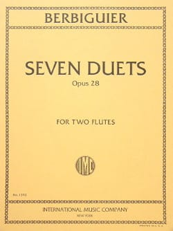 7 Duets op. 28 - 2 Flutes Benoît-Tranquille Berbiguier laflutedepan