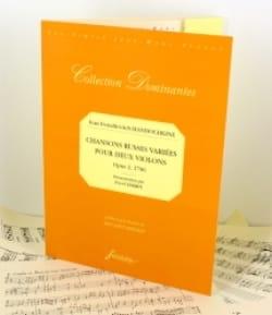 Chansons Russes Variées Op.2 1796 laflutedepan