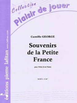 Souvenirs de la Petite France Camille George Partition laflutedepan