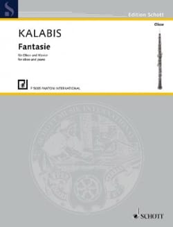 Fantaisie - Hautbois et Piano - Viktor Kalabis - laflutedepan.com