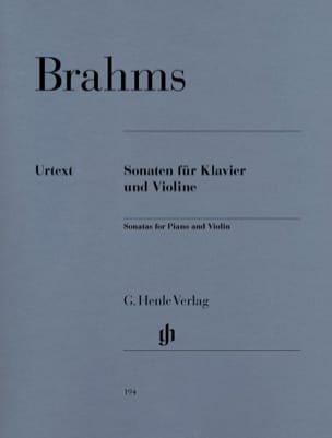 Sonates pour violon BRAHMS Partition Violon - laflutedepan