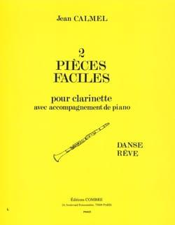 2 Pièces faciles Jean Calmel Partition Clarinette - laflutedepan