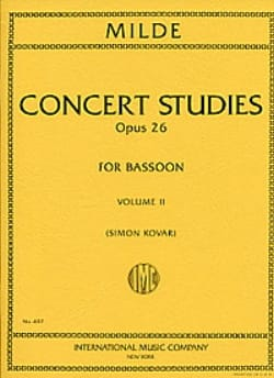Etudes de concert volume1 / Concert studies op.26 laflutedepan