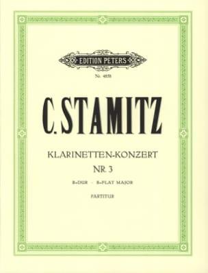 Klarinetten-Konzert Nr. 3 B-Dur - Partitur STAMITZ laflutedepan