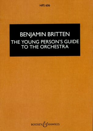 The young person's guide to the orchestra - Score BRITTEN laflutedepan
