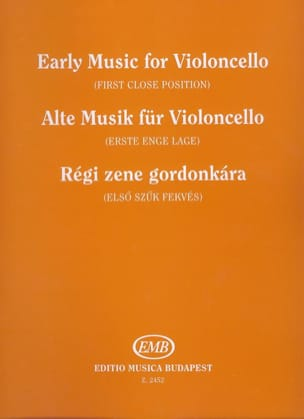 Alte Musik für Violoncello - Ferenc Brodszky - laflutedepan.com