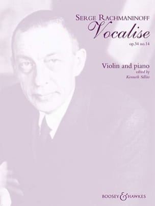 Vocalise op. 34 n° 14 RACHMANINOV Partition Violon - laflutedepan