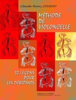 Méthode de Violoncelle Volume 1 Claude-Henry Joubert laflutedepan