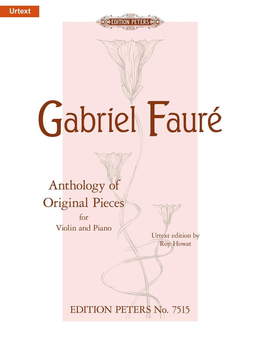 Anthology Of Original Pieces - FAURÉ - Partition - laflutedepan.com