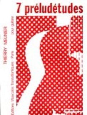 7 Préludétudes - Thierry Meunier - Partition - laflutedepan.com