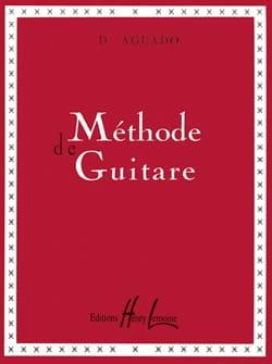Méthode de guitare Dionisio Aguado Partition Guitare - laflutedepan