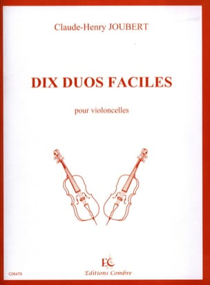 10 Duos faciles Claude-Henry Joubert Partition laflutedepan