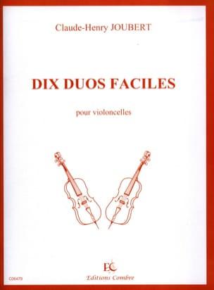 10 Duos faciles Claude-Henry Joubert Partition laflutedepan
