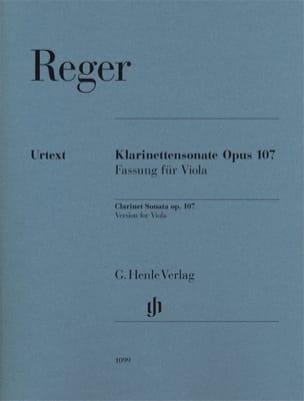 Sonate pour clarinette op. 107 - Version pour alto et piano laflutedepan