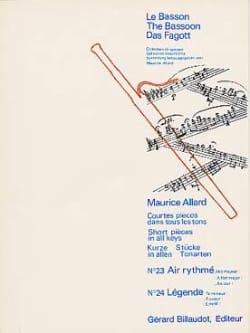 Courtes Pièces Dans Tous les Tons N° 23-24 Maurice Allard laflutedepan