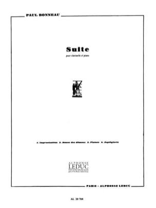 Suite Paul Bonneau Partition Clarinette - laflutedepan