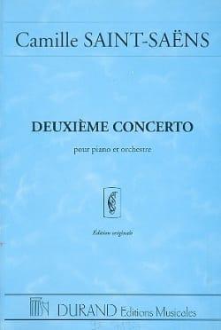 Concerto Piano n° 2 op. 22 - Conducteur SAINT-SAËNS laflutedepan