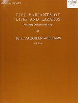 Five Variants on Dives and Lazarus - Study score laflutedepan