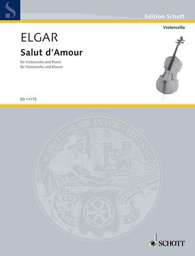 Salut d'Amour opus 12 N° 4 - ELGAR - Partition - laflutedepan.com