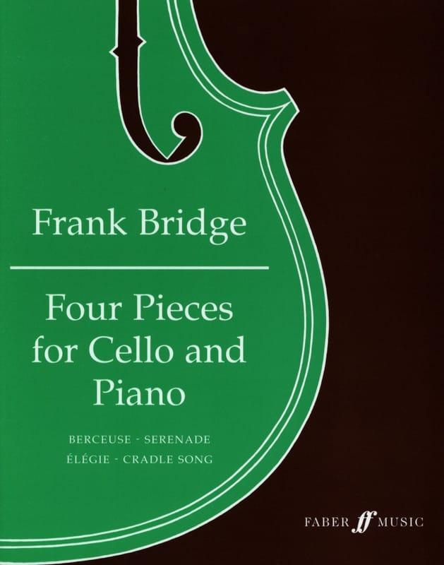 4 Pièces - Violoncelle - Frank Bridge - Partition - laflutedepan.com