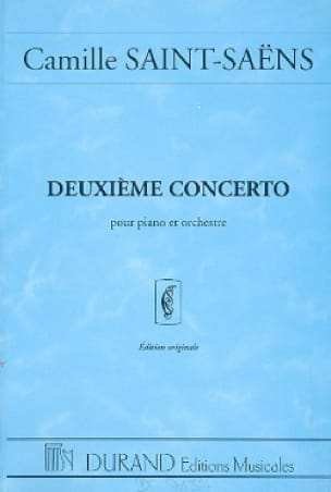 Concerto Piano n° 2 op. 22 - Conducteur - laflutedepan.com