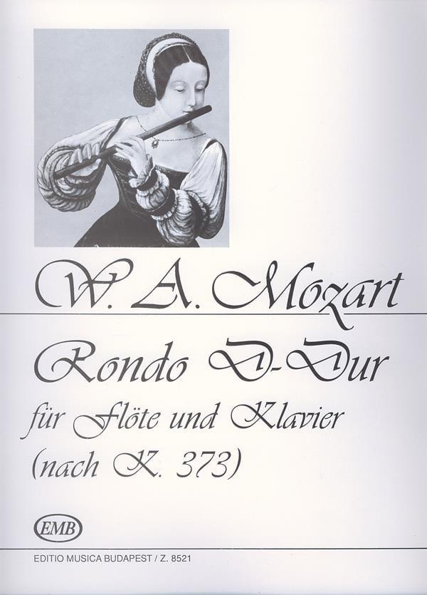 Rondo KV 373 - MOZART - Partition - laflutedepan.com
