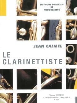 Le Clarinettiste Jean Calmel Partition Clarinette - laflutedepan