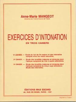 Anne-Marie Mangeot - Ejercicios de entonación - Libro 1 - Partition - di-arezzo.es