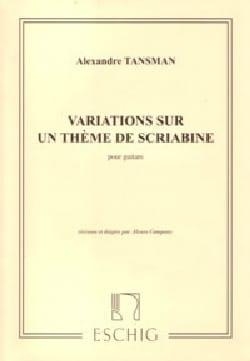 Variations Sur un Thème de Scriabine Alexandre Tansman laflutedepan