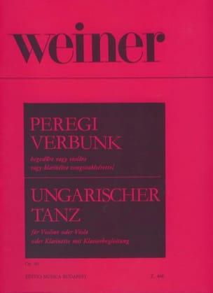 Hungarian Dance Op. 40 Leo Weiner Partition Violon - laflutedepan