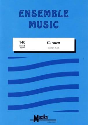 Carmen -Ensemble BIZET Partition ENSEMBLES - laflutedepan