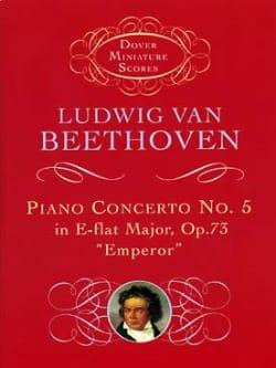 Piano Concerto n° 5 Emperor E flat maj. op. 73 - Score - laflutedepan.com