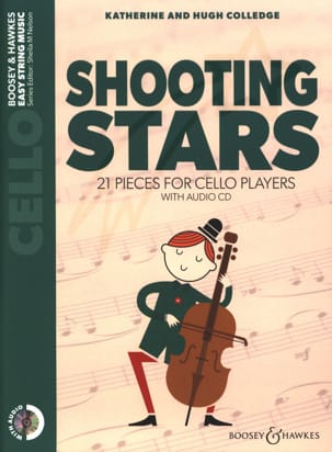 Katherine & Hugue Colledge - Shooting Stars - Cello CD - Partition - di-arezzo.es