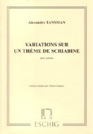 Variations Sur un Thème de Scriabine - laflutedepan.com