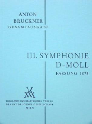 Symphonie Nr. 3 d-moll 1873 - Vol 1 - BRUCKNER - laflutedepan.com