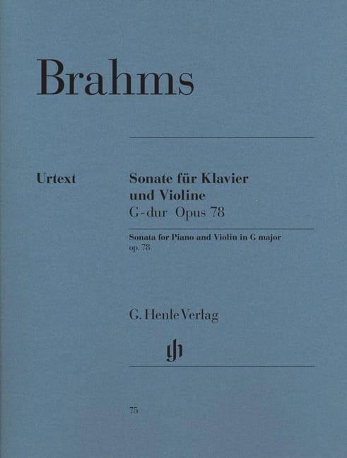 Sonate pour violon en Sol majeur op. 78 - BRAHMS - laflutedepan.com