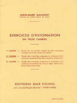 Anne-Marie Mangeot - Ejercicios de entonación - Folleto 2 - Partition - di-arezzo.es