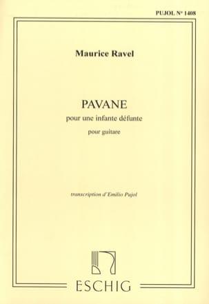Pavane pour une infante défunte - 2 guitares RAVEL laflutedepan