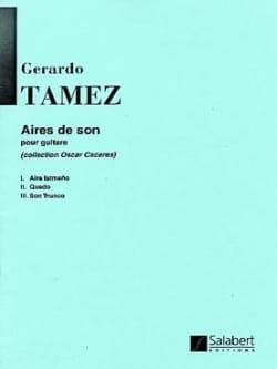Aires de Son Gerardo Tamez Partition Guitare - laflutedepan