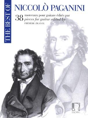 38 Morceaux - Guitare PAGANINI Partition Guitare - laflutedepan