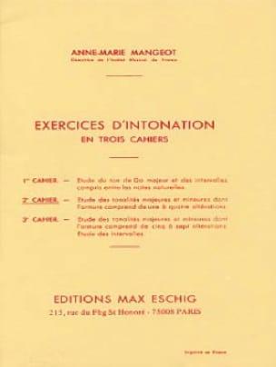 Exercices d'intonation - Cahier 2 - laflutedepan.com