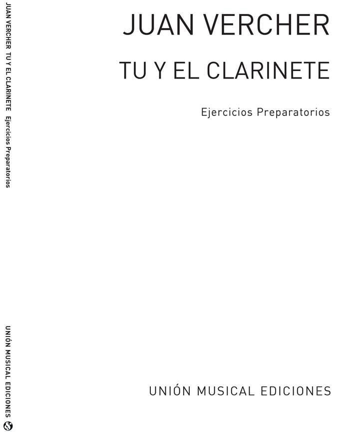 Tu y el clarinete - Juan Vercher - Partition - laflutedepan.com