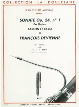 Sonate op. 24 n° 1 -Basson et basse - DEVIENNE - laflutedepan.com