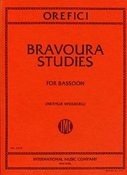 Bravoura studies Alberto Orefici Partition Basson - laflutedepan