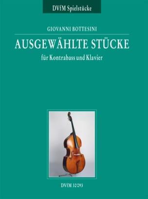 Ausgewählte Stücke für Kontrabass und Klavier BOTTESINI laflutedepan