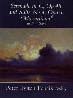 Serenade En Do Op. 48 et Suite N° 4 Op. 61 Mozartiana laflutedepan