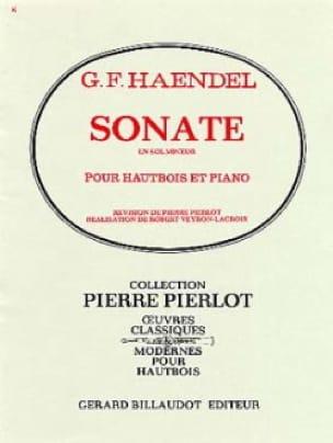 Sonate en Sol Mineur - HAENDEL - Partition - laflutedepan.com