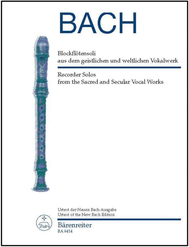 Blockflötensoli aus dem geistlichen und weltlichen Vokalwerk - laflutedepan.com